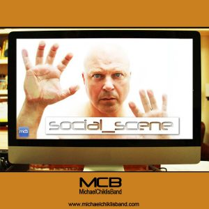 Michael Chiklis Band - Social Scene - CD Single